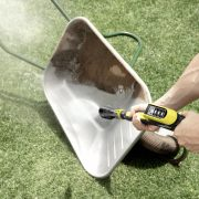 power_washing_a_wheelbarrow